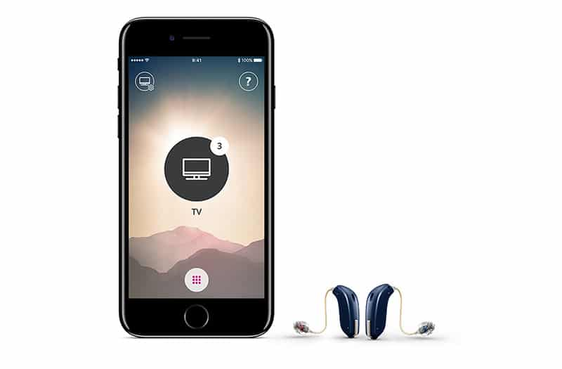 hearing aid cellphone app